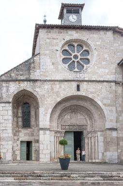 Extérieur Abbatiale Saint Michel