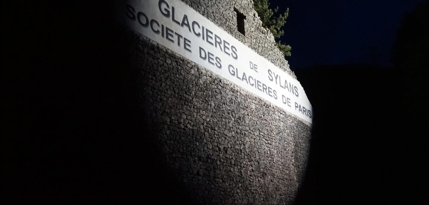Visite nocturne des Glacières